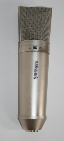 Rode NT-2 microphone photo